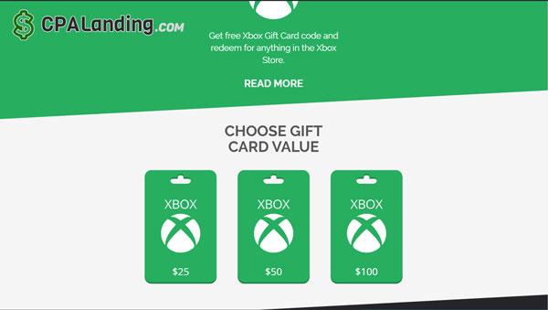 cpagrip gift card landing