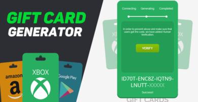 cpa gift card generator landing page